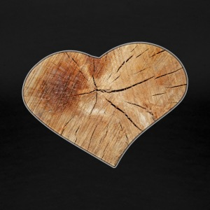 Heart Wood Isle by Isles of Shirts - Frauen Premium T-Shirt
