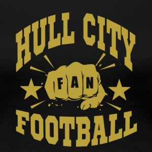 Hull City Fan - Dame premium T-shirt