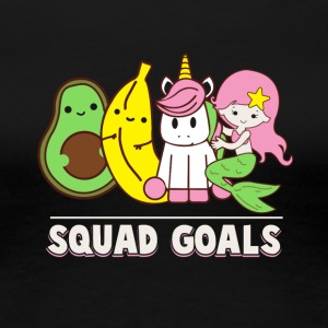 Squad Goals Unicorn - Women's Premium T-Shirt