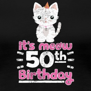 It's meow 50th Birthday! Birthday Sweet Cat