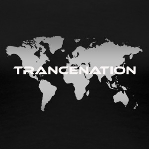 TRANCE NATION - Dame premium T-shirt