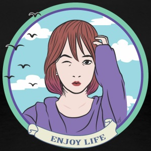 enjoy life - enjoy life - Women's Premium T-Shirt