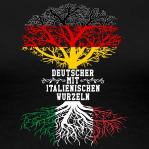 German with Italian roots - Women's Premium T-Shirt