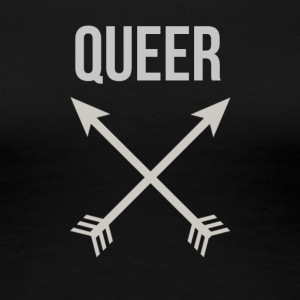queer Arrows - Premium-T-shirt dam