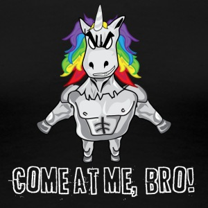 Come at me Unicorn - Frauen Premium T-Shirt