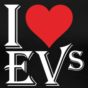 I love EVs - Women's Premium T-Shirt