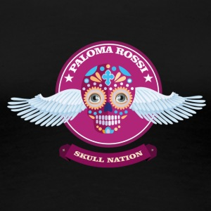 Paloma Rossi - Flying Skull Limited Edition - Vrouwen Premium T-shirt