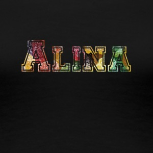 Alina, the brave. - Women's Premium T-Shirt