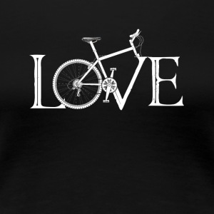 Love Bicycle - Women's Premium T-Shirt