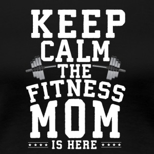 Fintess mom - Women's Premium T-Shirt