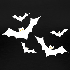 Halloween Bats - Women's Premium T-Shirt