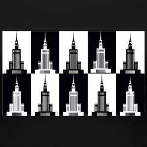 Palace of Culture and Science in Warsaw - Women's Premium T-Shirt