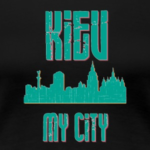 KIEV MY CITY - Premium-T-shirt dam