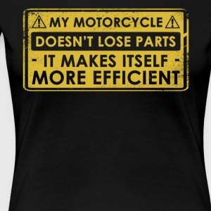 Funny Motorcycle Restoration Gift - Women's Premium T-Shirt