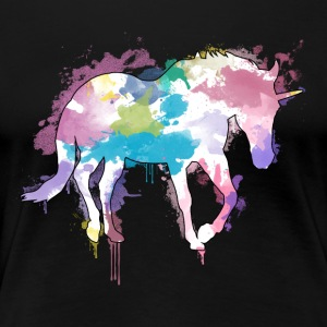 Unicorn Splash - Premium-T-shirt dam