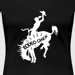 Rodeo Chick - Women's Premium T-Shirt