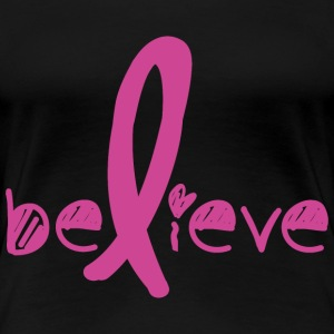 Tro Cancer Fight - Dame premium T-shirt