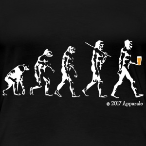 T-shirt Evolution - T-shirt Premium Femme
