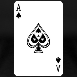 Ace Of Spades - Dame premium T-shirt