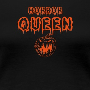 HORROR QUEEN - HALLOWEEN - Vrouwen Premium T-shirt