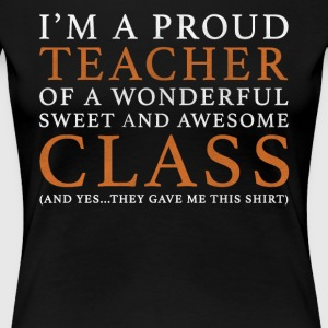 Original Teacher Gift: Order Here - Women's Premium T-Shirt