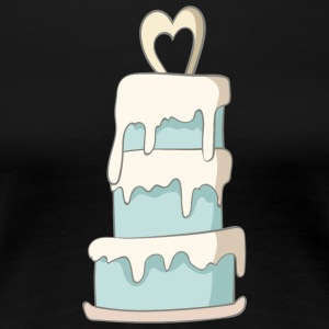 wedding cake - Women's Premium T-Shirt