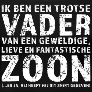 Trotse Vader Zoon - Vrouwen Premium T-shirt