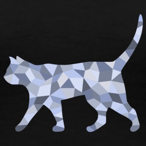 Cat cubist - Women's Premium T-Shirt