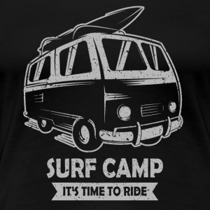 Surf-Camp - Frauen Premium T-Shirt