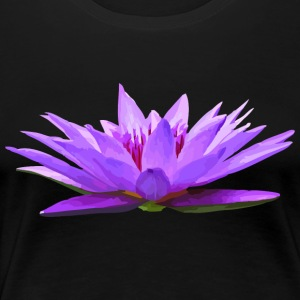 Seerose - Nymphaea colorata - Frauen Premium T-Shirt