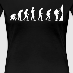 Evolution Climbing Climbers - Women's Premium T-Shirt