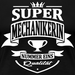 mechanikerin nummer eins - Frauen Premium T-Shirt