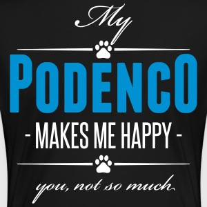 My Podenco makes me happy - Frauen Premium T-Shirt