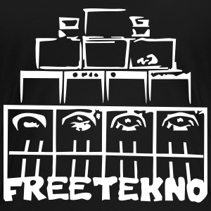 FREETEKNO SOUND SYSTEM - Women's Premium T-Shirt