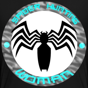 Spiders hunting female logo