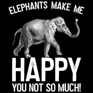 Stor svart elefant Dick