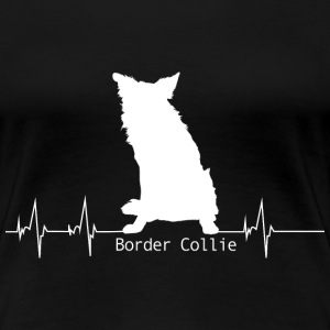 Cadeau de battement de coeur de Border Collie