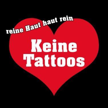 keine tattoos