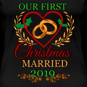 First Christmas married couple marriage love