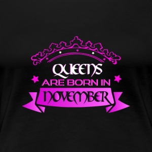 November Birthday - Queens are born in November