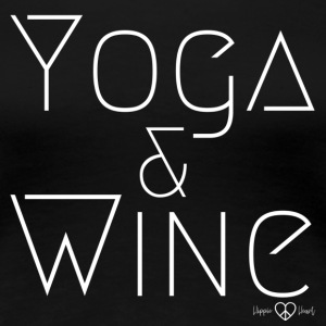 Yoga & Wine white