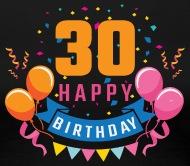 Feliz cumpleanos 30 mujer