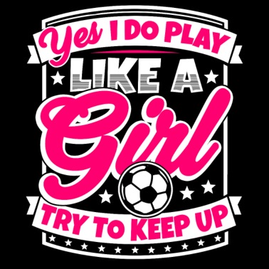 faf7ddaa Fotball pris kvinner: Jeg spiller fotball som en jente - Premium T-skjorte  for