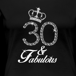 30 and Fabulous Birthday Diamond 1988 T-shirt