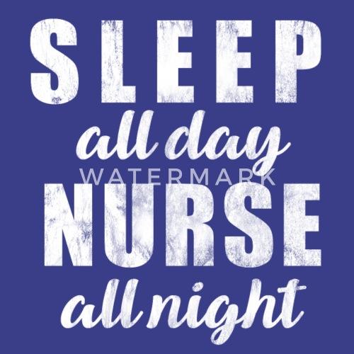 Verpleegkundige Nightshift Ziekenhuisbed Vrouwen Premium T Shirt