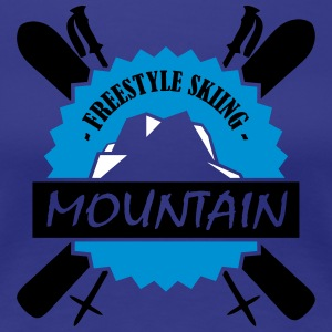 FREESTYLE SKIING - Women's Premium T-Shirt