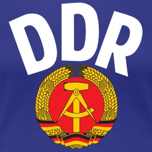 DDR - German Democratic Republic - Est Germany - Camiseta premium mujer