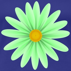 Green Daisy Top Down