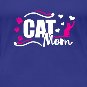 Cat Mom Catmama Cat Mummy Cat gift - Women's Premium T-Shirt