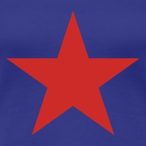 RED STAR - Premium-T-shirt dam